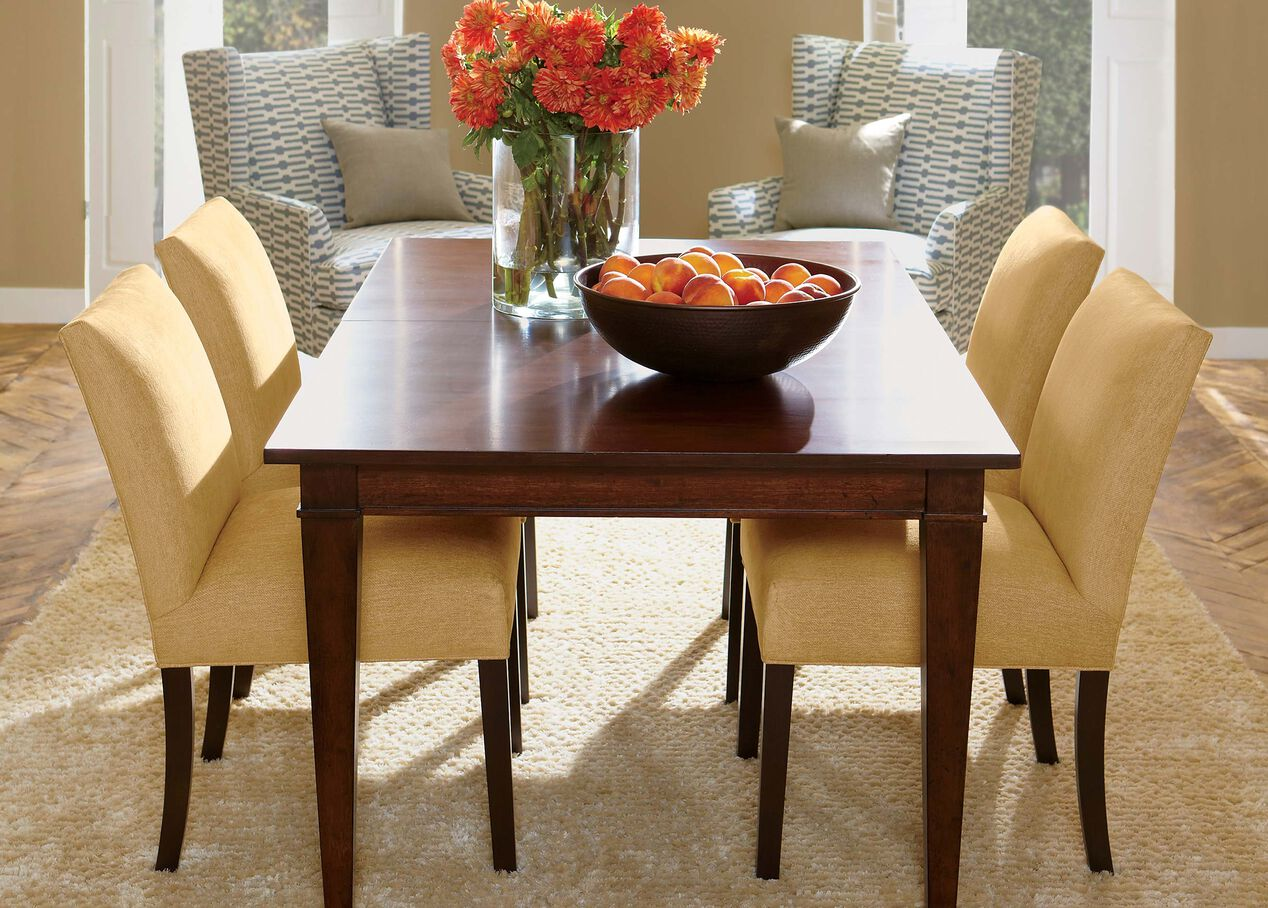 Bench Dining Tables: Christopher Dining Table