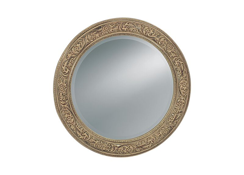 Ornately Framed Mirror ,  , large_gray