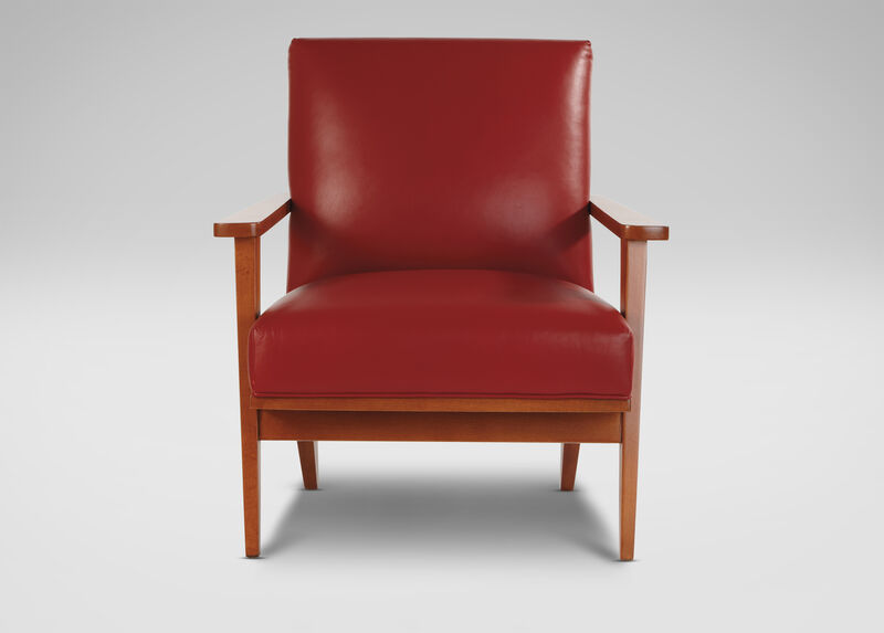 Ryder Leather Chair ,  , large_gray