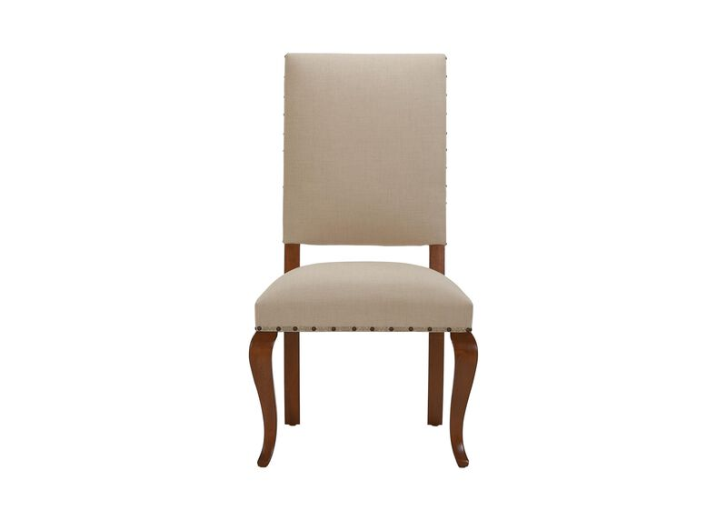 Hadley Cabriole-Leg Side Chair ,  , large_gray