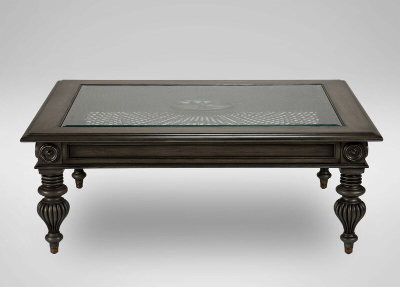 Windward Coffee Table, Shark Fin at Ethan Allen in Ormond Beach, FL | Tuggl