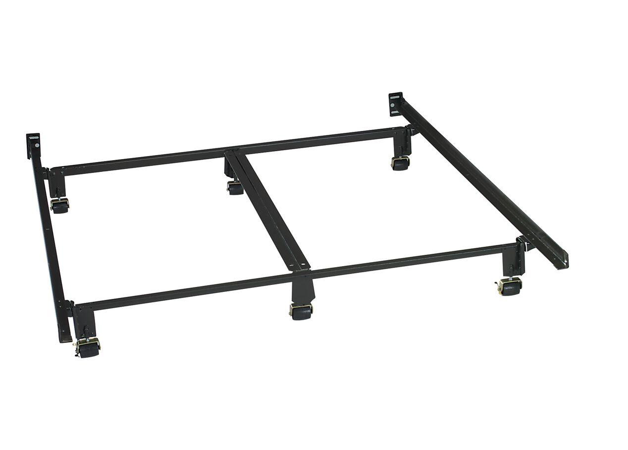 Metal bed frame cover zinus upholstered square stitched platform bed with headboar 100 black - Ethan allen metal bed ...
