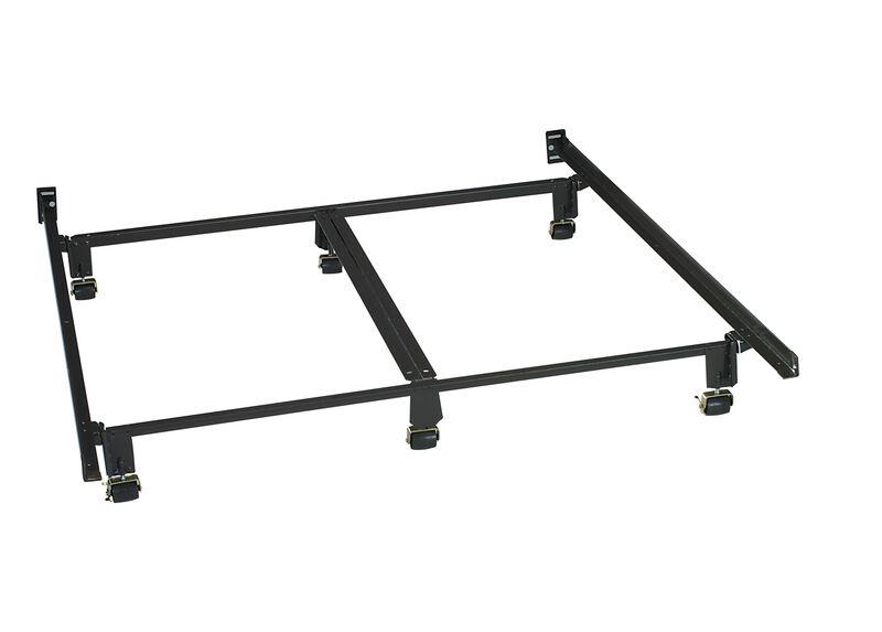 Instant Metal Bed Frame ,  , large_gray