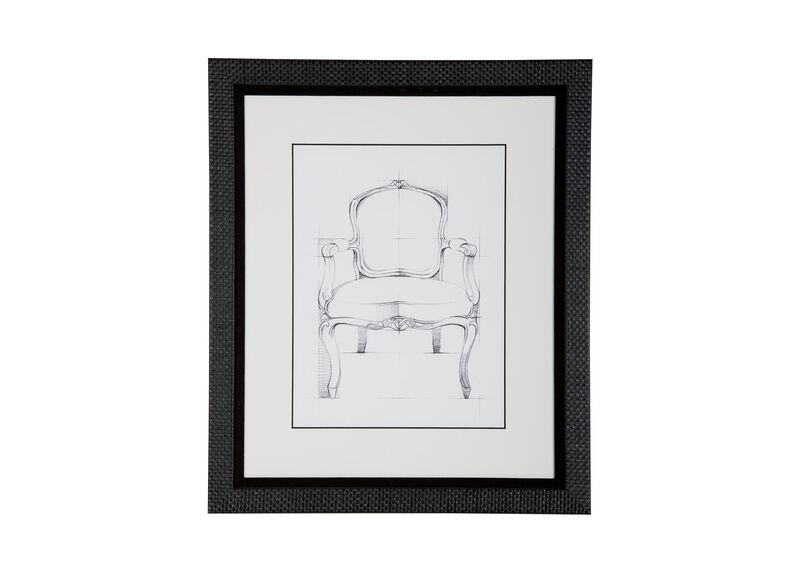 Historic Chair Sketch II ,  , large_gray