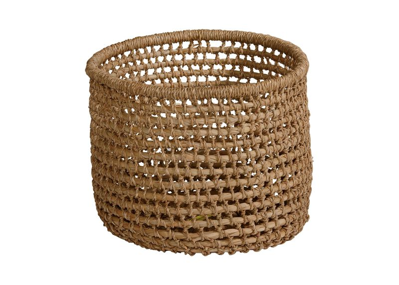 Small Handwoven Flo Basket ,  , large_gray
