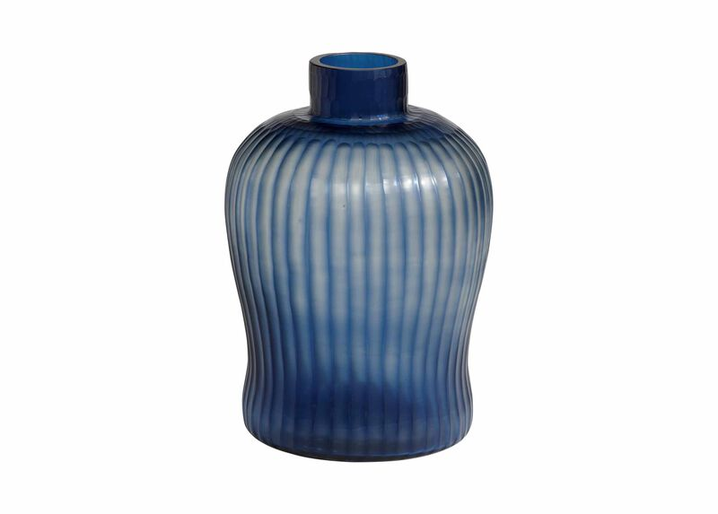 Cut Brayton Indigo Vase at Ethan Allen in Ormond Beach, FL | Tuggl