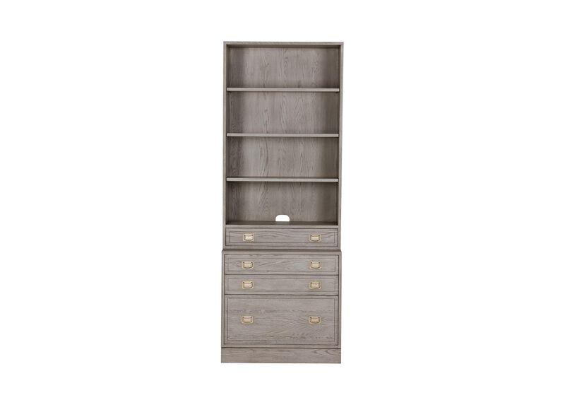 Callum Single File Bookcase ,  , large_gray