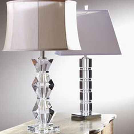 Crystal Blocks Table Lamp ,  , hover_image