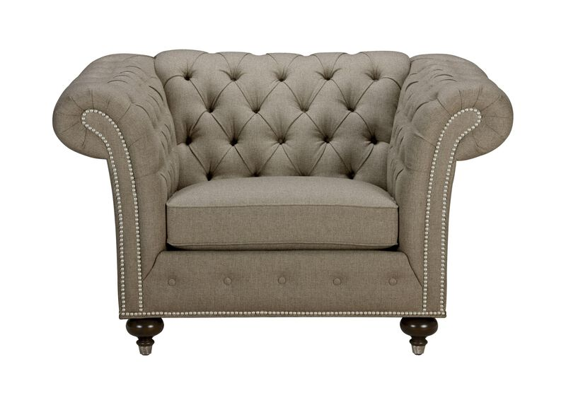 Mansfield Chair, Quick Ship , Palmer Fog (Q3055), chenille , large_gray