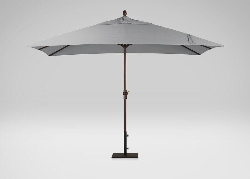 Ash Rectangular Market Umbrella, Onyx ,  , large_gray