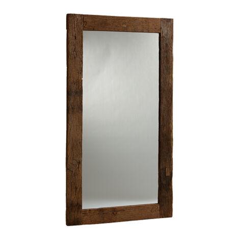 Reclaimed Wood Floor Mirror ,  , large
