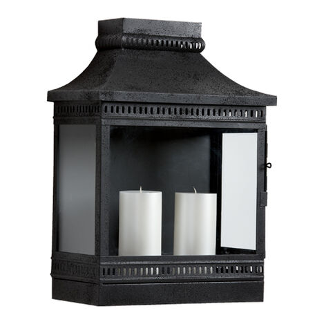 Black Fulton Wall Lantern ,  , large