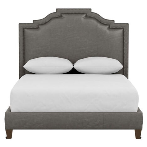 Quinn Leather Bed ,  , large