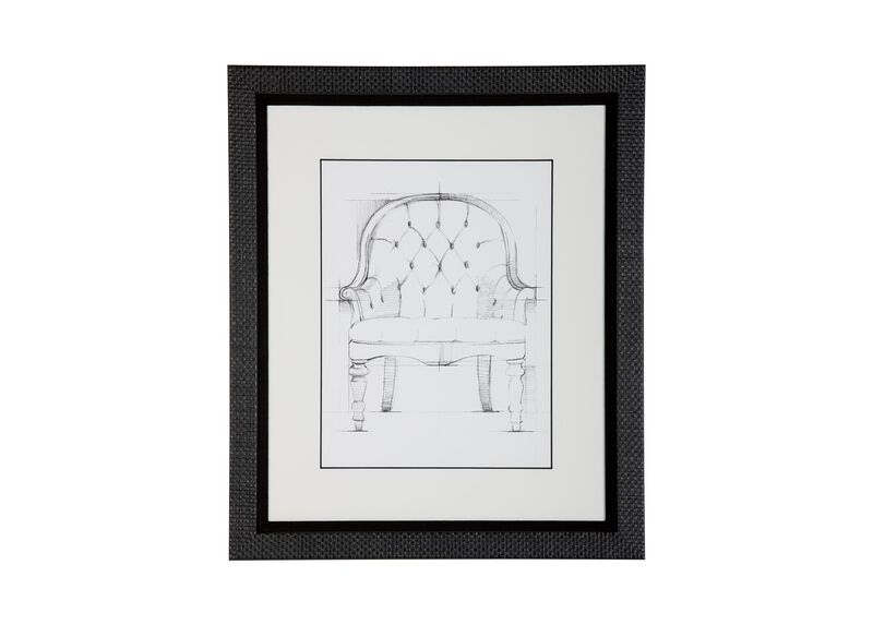Historic Chair Sketch VI ,  , large_gray
