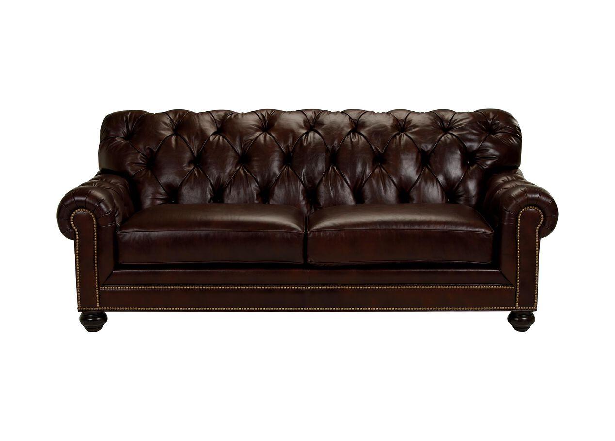 Chadwick Leather Sofa Sofas Amp Loveseats