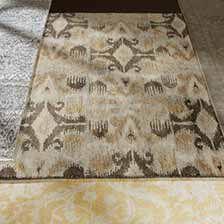 large modern ikat rug hoverimage
