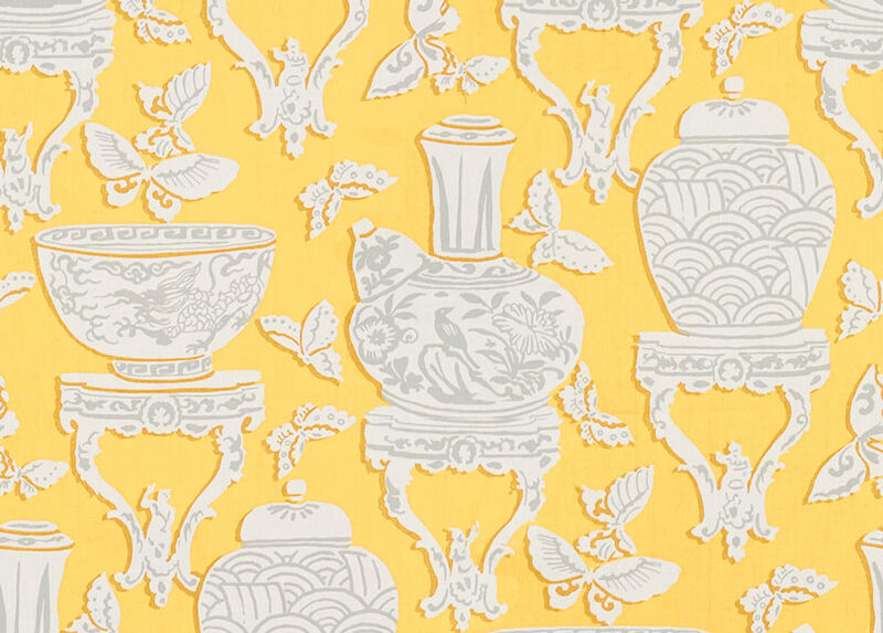 Ginger Jar Daffodil Fabric ,  , large_gray