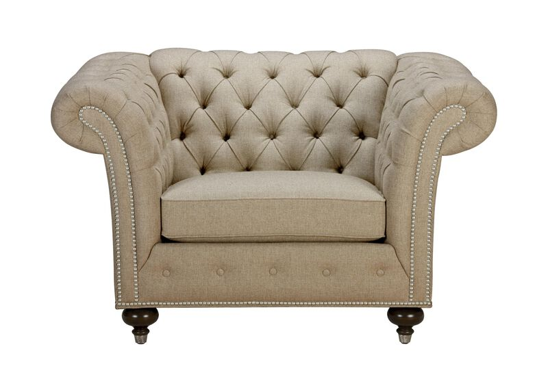 Mansfield Chair, Quick Ship , Palmer Oyster (Q3033), chenille , large_gray
