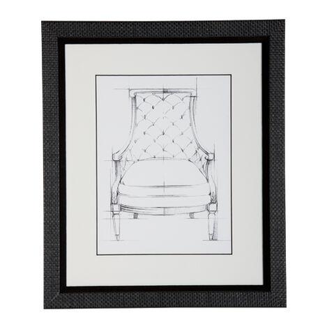 Historic Chair Sketch V ,  , large