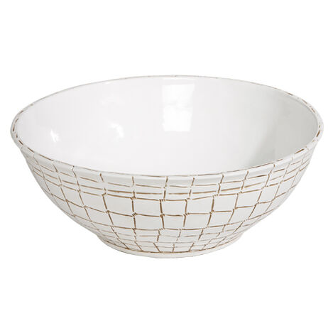 Coroco White Bowl ,  , large