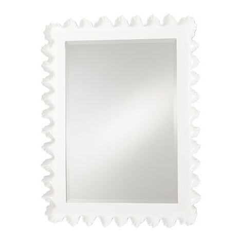 Scalloped Mirror ,  , large