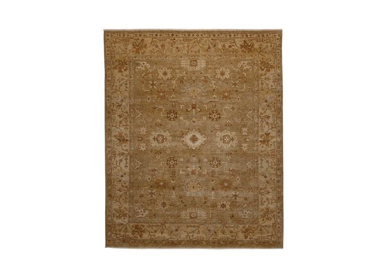 Oushak Rug, Light Gold/Ivory ,  , large_gray