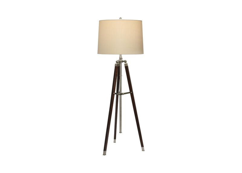 Surveyor39s floor lamp floor lamps for Surveyors floor lamp wood