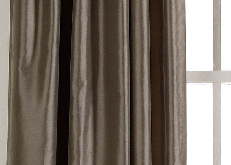 Pewter Satin Dupioni Fabric by the Yard ,  , large_gray