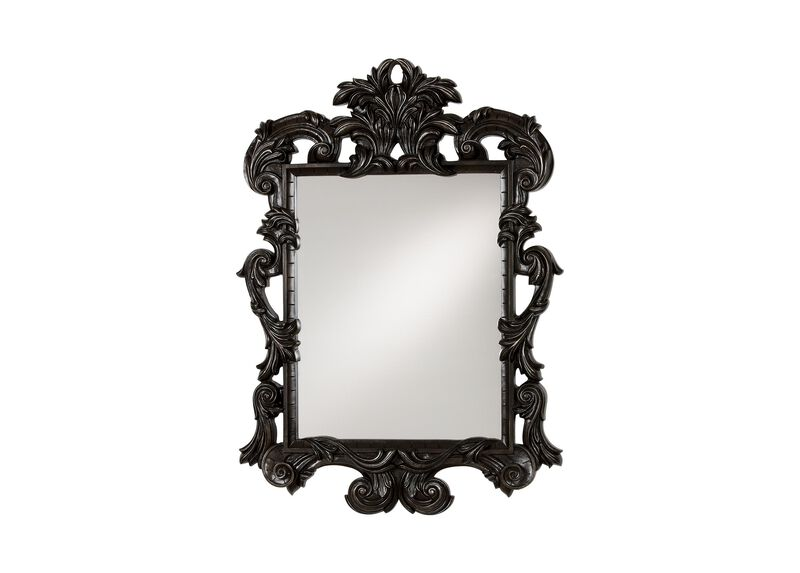 Black Ornate Mirror at Ethan Allen in Ormond Beach, FL | Tuggl