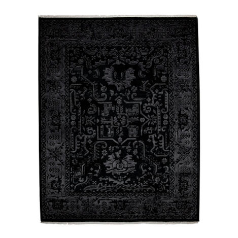 Heriz Deconstructed Rug, Charcoal ,  , large
