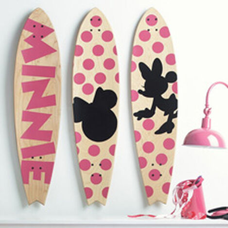 Minnie Mouse Longboard Wall Art II ,  , hover_image