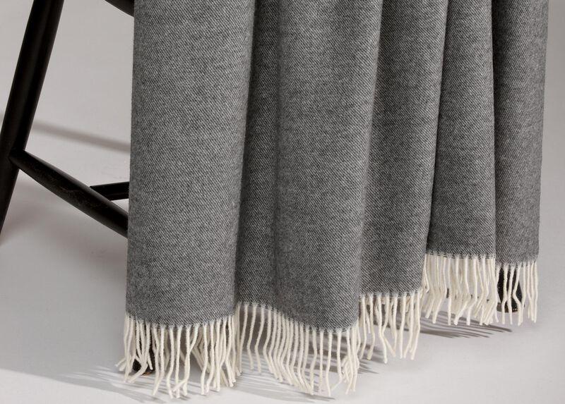 Merino Wool Throw, Anthracite ,  , large_gray