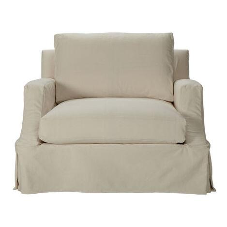 Lynn Slipcovered Chair ,  , large