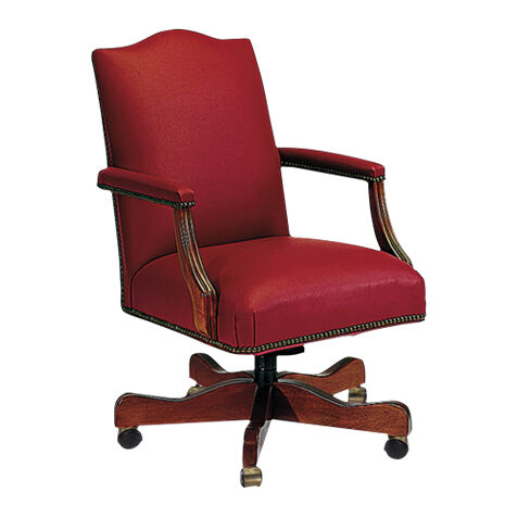 lee leather desk chair large