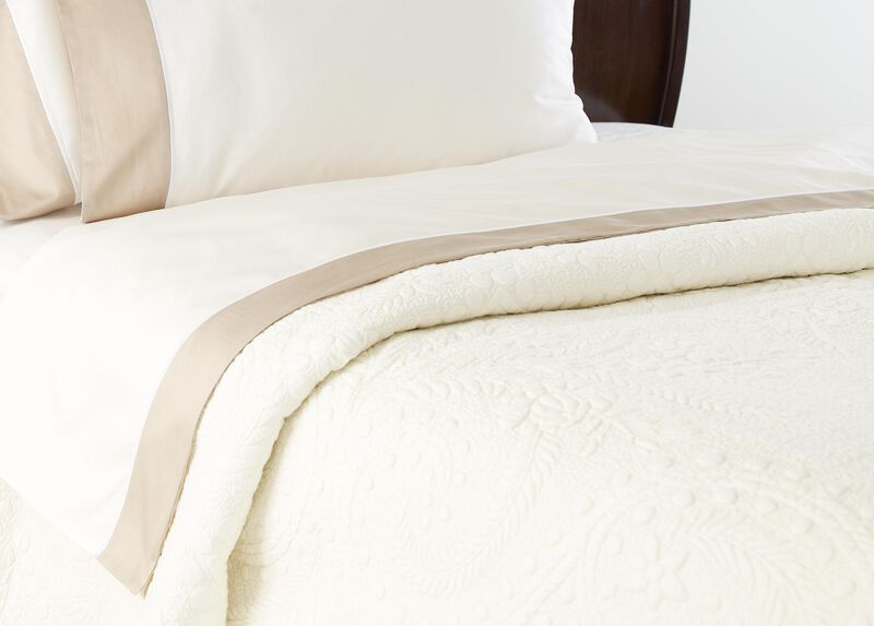 Hayden Flat Sheets, Ivory/Flax ,  , large_gray