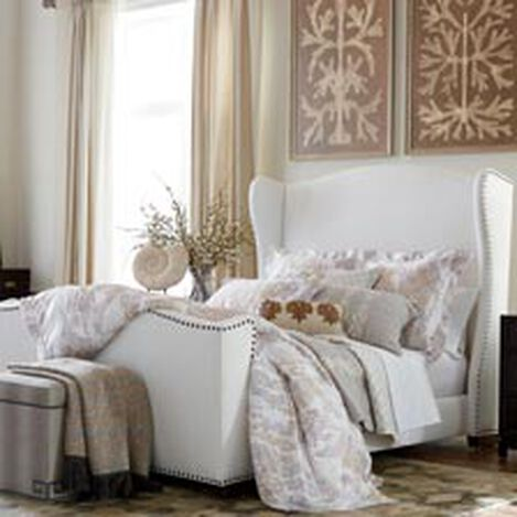 Kayla Bed with Tall Footboard ,  , hover_image