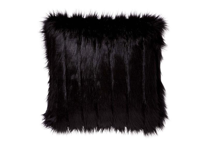 Faux Fur Fox Pillow ,  , large_gray