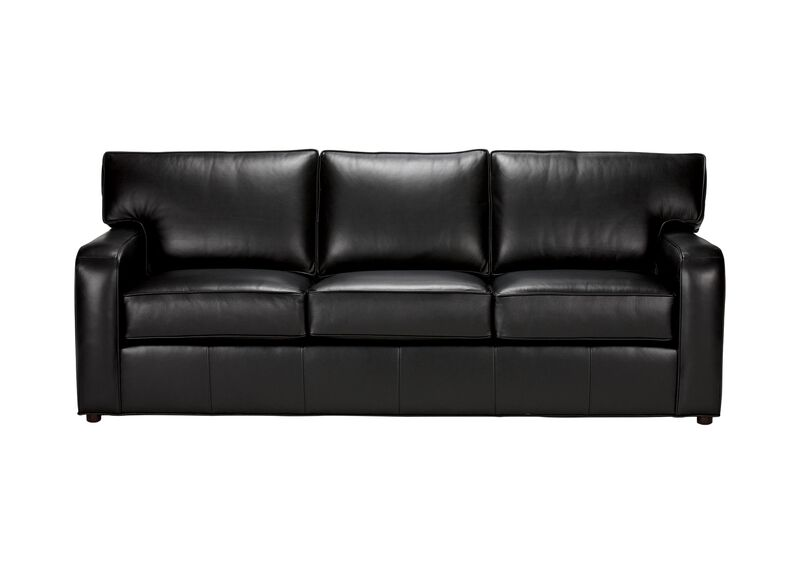 Retreat Track-Arm Leather Sofa ,  , large_gray