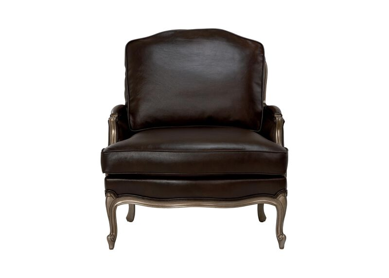 Versailles Leather Chair ,  , large_gray