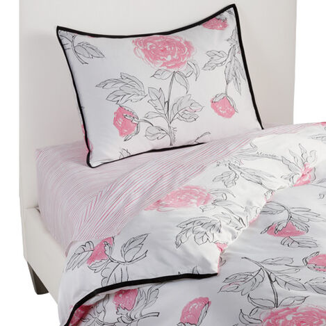 Peony Duvet Cover and Sham ,  , large