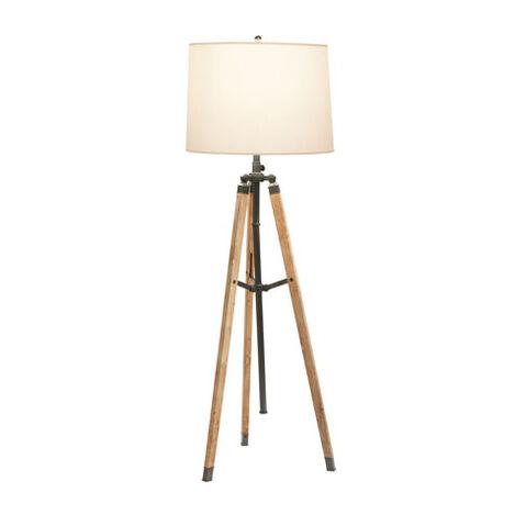 Shop floor lamps lighting collections ethan allen for Stafford bronze floor lamp