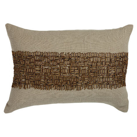Beaded Band Pillow ,  , large