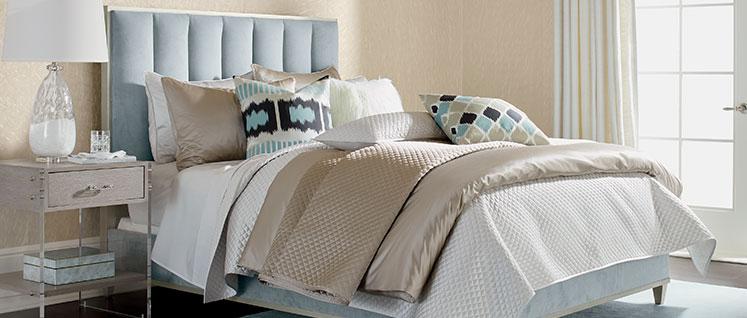 Bedroom Sets With Pillars shop beds | king & queen size bed frames | ethan allen