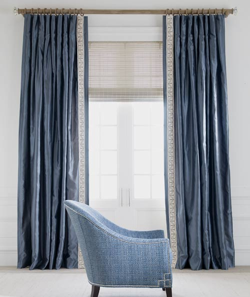 Custom window treatments for 12 inch wide window blinds
