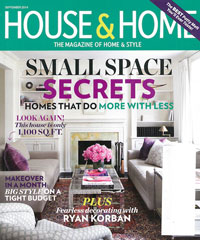 Canadian House & Home September 2014