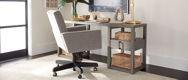 shop desk chairs | home office chairs | ethan allen