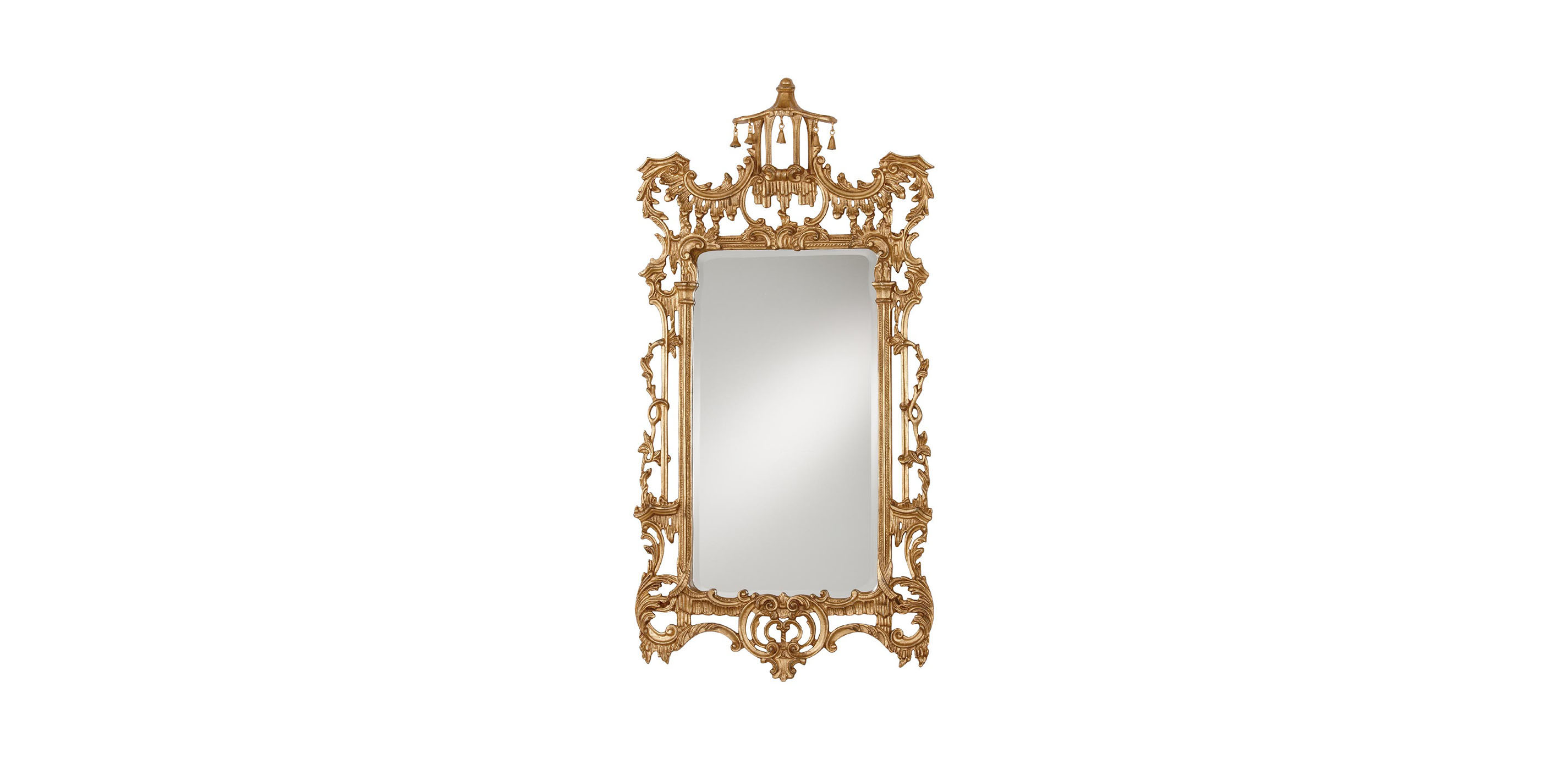 Gold chinoiserie mirror mirrors ethan allen for Mirror mirror songsterr