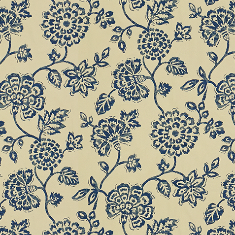 Dominica Indigo Fabric by the Yard ,  , large