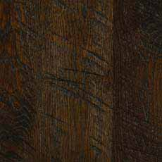 Portobello (345): Cool very deep brown mocha stain, satin sheen.