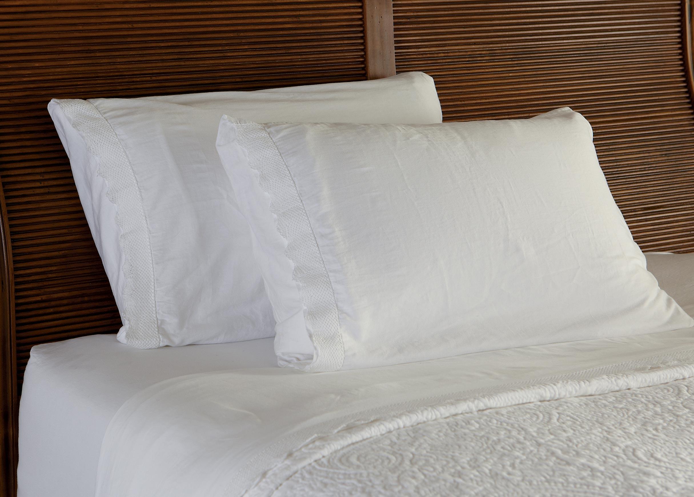 Stonewashed Lace Edge Sheet Set Sheets Bedskirts